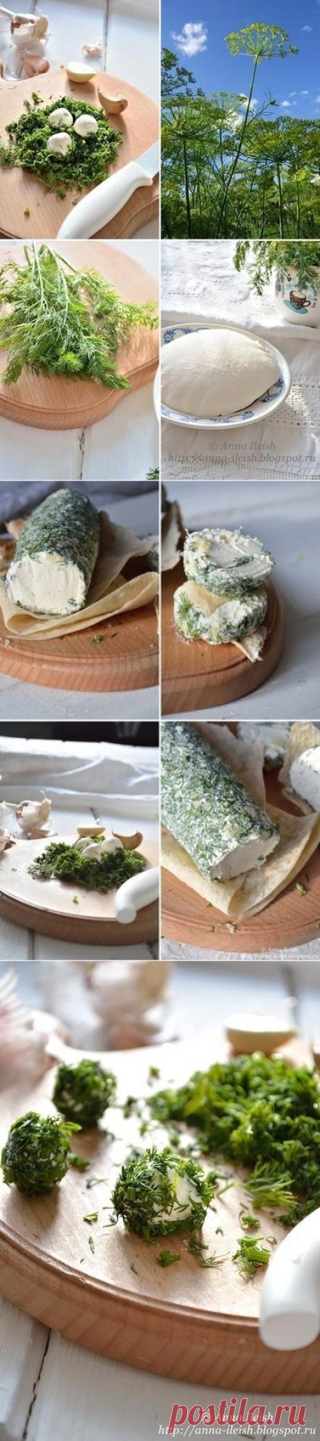 Нежный домашний сыр из сметаны и кефира