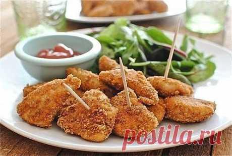 Чикен нагетс кулинарный рецепт с фото от Paragrams