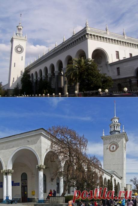 Знаете ли вы, что в Сочи и Симферополе одинаковые вокзалы | путешествуем онлайн | Яндекс Дзен