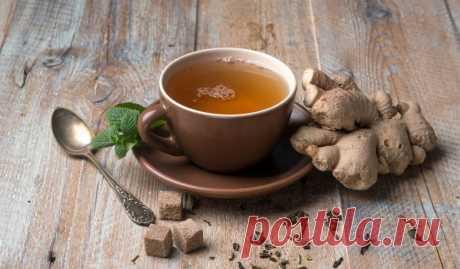 Имбирный чай с кардамоном и куркумой