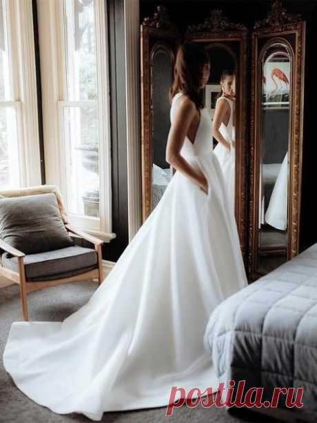 Свадебное платье с карманами 😉