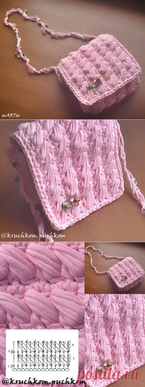 Вязание.сумка