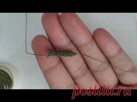İğne oyası boru kordon yapımı. Boru nasıl yapilir? #needlelace