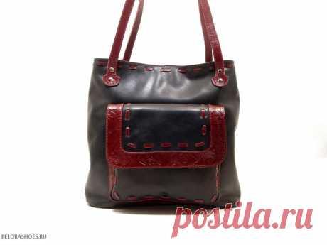 Сумка-рюкзак женская Трио 4 Удобная сумка из натуральной кожи с двумя независимыми отделениями и возможностью одевать как рюкзак