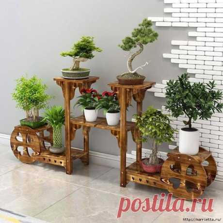 Подставки для комнатных растений — Pro ремонт