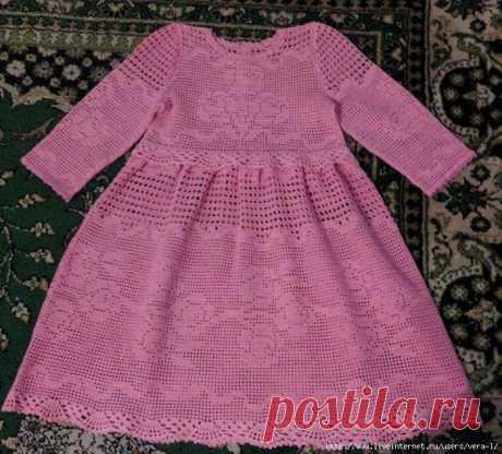 Платье для девочки. Автор Татьяна Tatiana