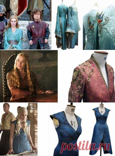 "Suits of heroes of series ""Game of Thrones\""."