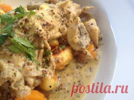 Кролик в горчице - Просто о французской кухне