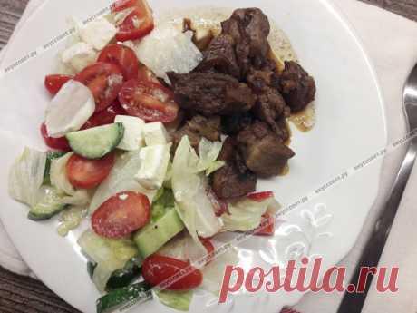 Свинина с грецкими орехами пошаговый рецепт с фото
