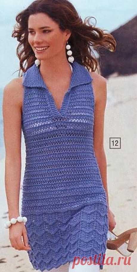 Туника спицами / Вязание для женщин спицами. Схемы / PassionForum - мастер-классы по рукоделию