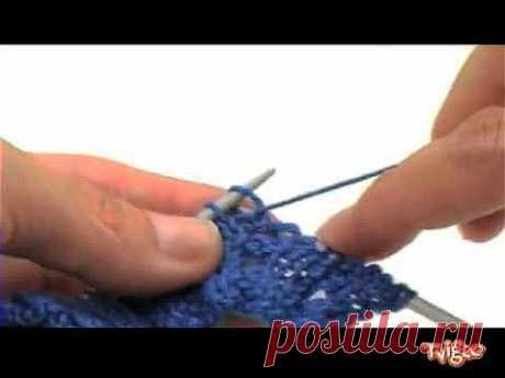 Вяжем спицами. Ажурные косы.flv - YouTube