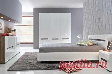 Модульные спальни - 70 фото идей оформления в интерьере