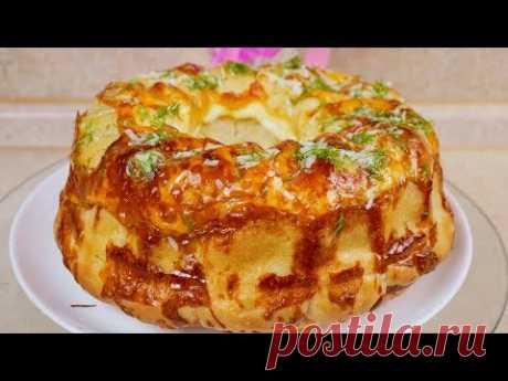 Такой хлеб Вы точно полюбите. Обезьяний хлеб, цыганка готовит. Gipsy cuisine.