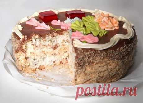 Киевский торт по нашему семейному рецепту. Очень вкусно! Сегодня я решила приготовить Киевский торт по домашнему рецепту, ведь это один из самых известных тортов на всем пост-советском пространстве.