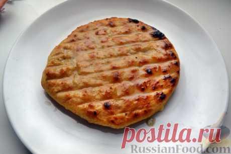 La receta: Hachapuri con el queso en RussianFood.com