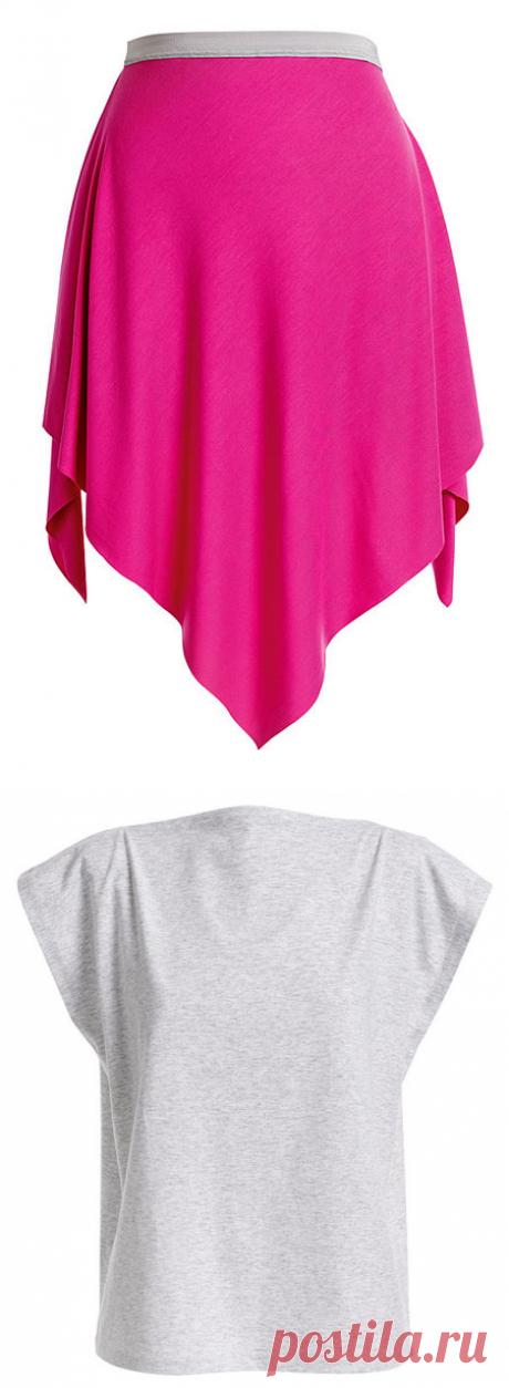 El juego de la ropa sin patrones — la Costura