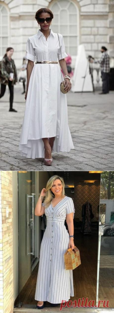 В моду вошли платья-рубашки: как их носить? (Фото) | ФЕМИНА | Женский Журнал | Яндекс Дзен