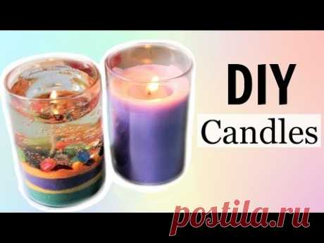 ¡DIY Water \/ Gel Candle and Aroma Candle without Bee or Soy Wax!! ¡- Easy and Cheap!