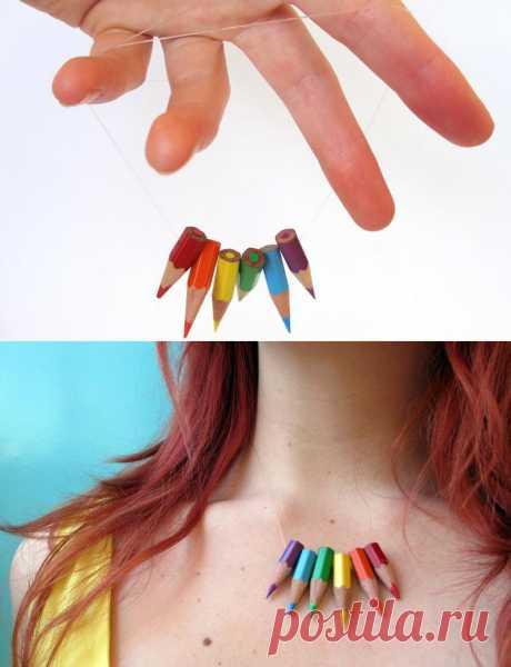 Пойманные на прихоти: Цветные ожерелье Карандаш магических Daydream
