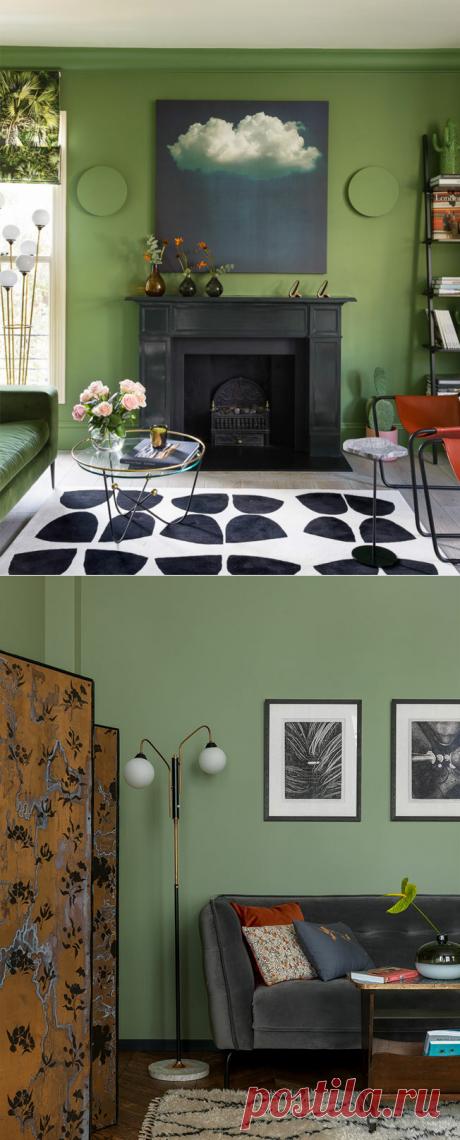 Цвет в интерьере: 5 оттенков года и 50 фото-примеров | Интерьер+Дизайн | Яндекс Дзен