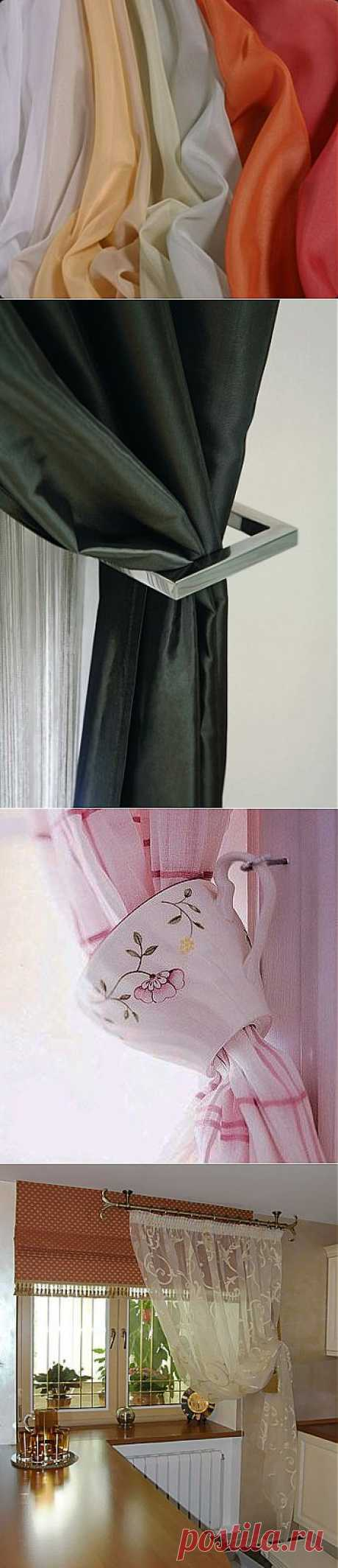 Занавески на кухню. Фото рассеют сомнения. ... + ВИДЕО-совет!!!!