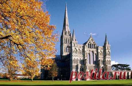 Солсберский собор — самый высокий собор Великобритании