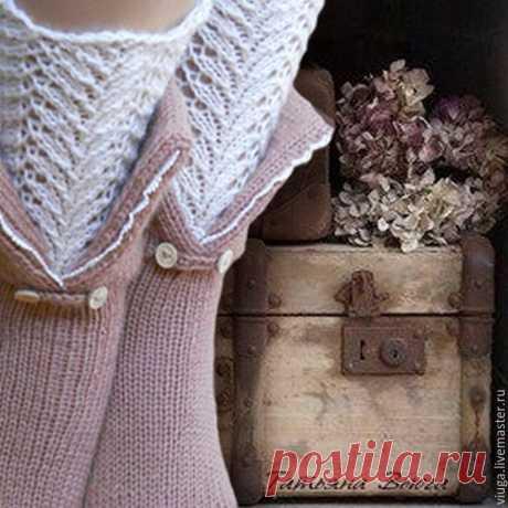 Дом у сиреневой реки. Носки вязаные, шерстяные – купить в интернет-магазине на Ярмарке Мастеров с доставкой - 6Y5J3RU | Тверь