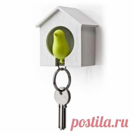 Теперь ваш ключ точно не потеряется - за этим проследит хранитель воробей-свисток
