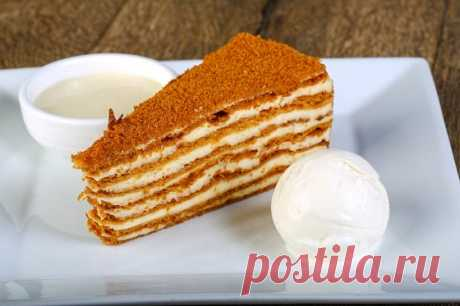Медовик: рецепт | Смачно Как приготовить Медовик. Рецепт торта Медовик