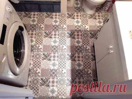 У вас маленькая ванная? Покажу стильный дизайн малюток и заодно свой ремонт :)