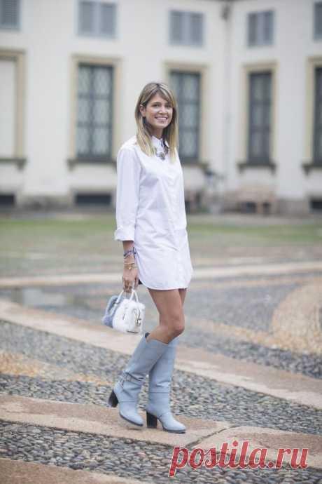 Белая рубашка: 15 образов для работы — Модно / Nemodno