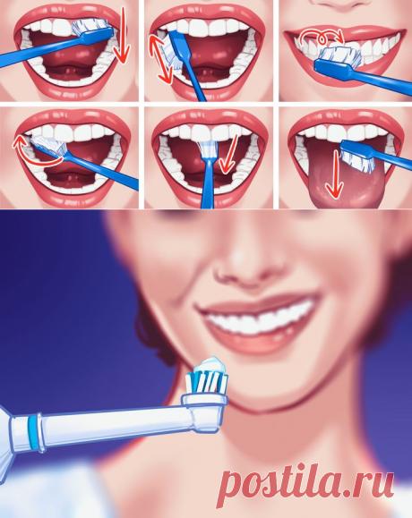 Как правильно чистить зубы | Бери и Делай | Пульс Mail.ru