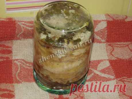 Жареные кабачки с чесноком на зиму - рецепт с фото пошагово