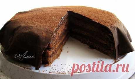"""Торт """"Шоколадно-кремовый"""""""