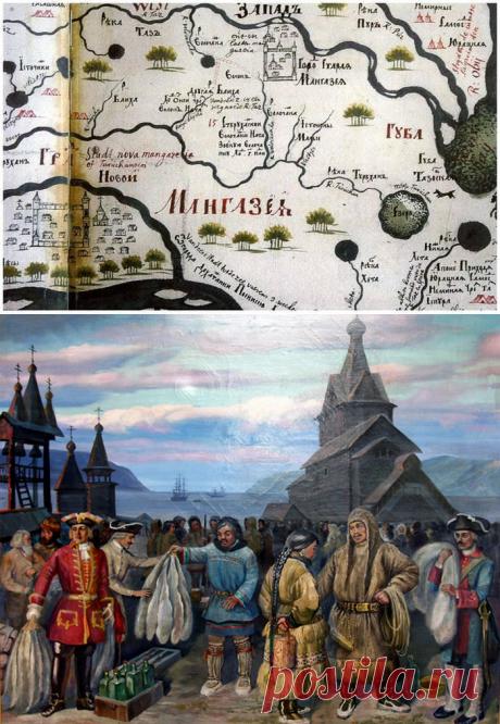 Тайна русского города-призрака Мангазеи - заполярного Клондайка, о котором слагали легенды