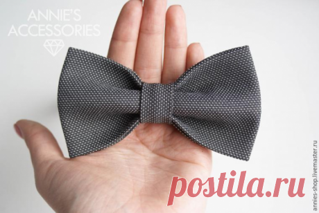 Как сшить галстук-бабочку: 10 простых шагов