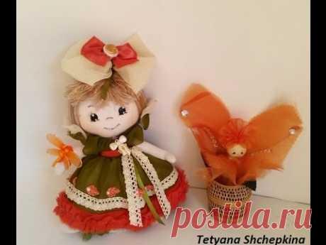 26 Como hacer muñeca de tela.lindacreaciones.КАК СДЕЛАТЬ куклу из ткани.