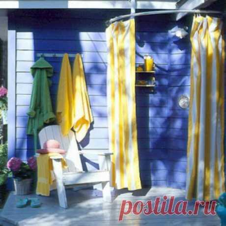 La ducha veraniega en la parte de campo — 6 sotok
