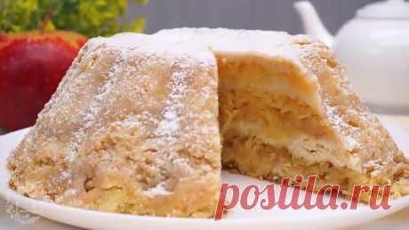Теперь я ТОЧНО ЗНАЮ, что делать с ЯБЛОКАМИ. Вкуснейший яблочный пирог Без замеса теста