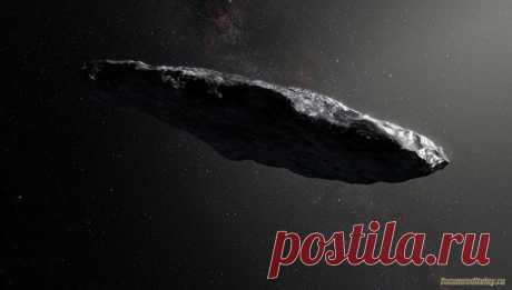 """Ученые предполагают, что """"межзвездный астероид"""" является кораблем пришельцев :: социальная сеть родителей"""