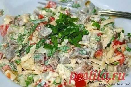 Салат «Самый вкусный» - Вкусные рецепты - медиаплатформа МирТесен