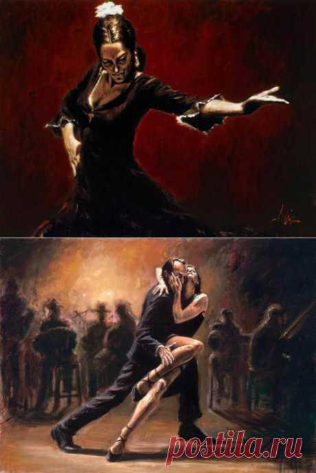 Fabian Perez и его страстный танец.