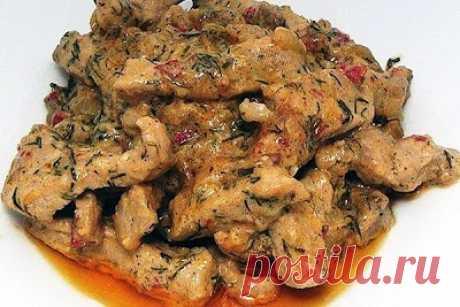 Рецепты Вкусных Домашних Блюд: Бефстроганов классический
