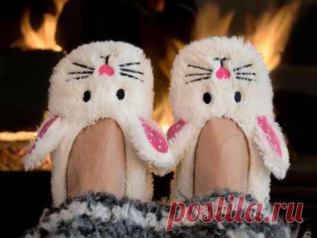 Ноги должны быть в тепле: несложные идеи тапочек своими руками - Сам себе мастер - медиаплатформа МирТесен