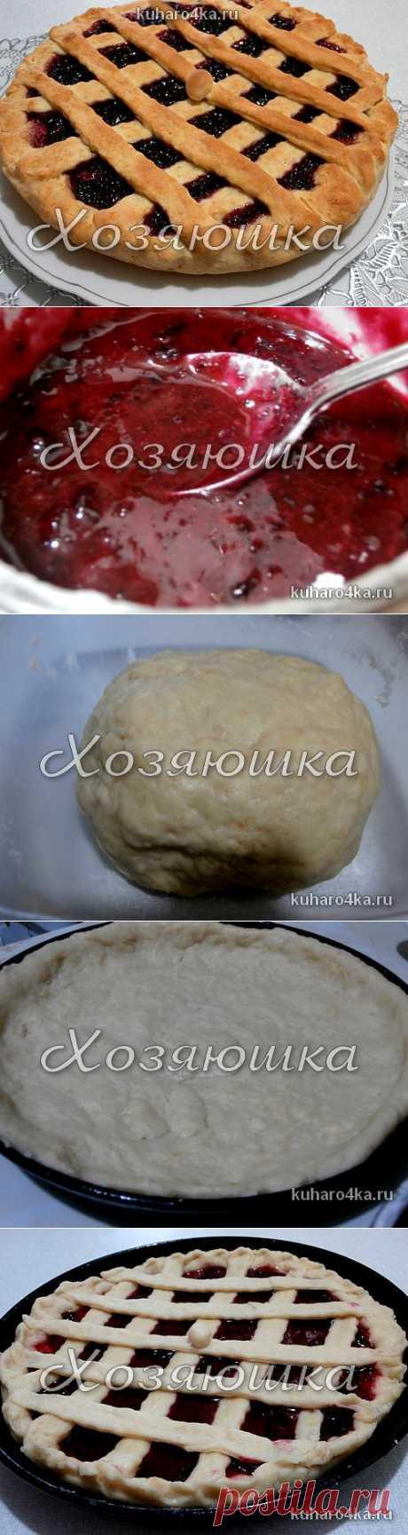 La ama. ¡Comer es dado! - el pastel con la confitura de bezdrozhzhevogo del test
