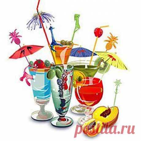 Правильные праздничные напитки   Готовим дома