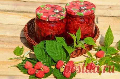 Варенье из малины с целыми ягодами - рецепты на зиму