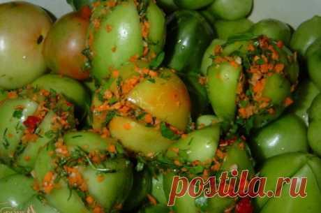 Зеленые маринованные помидоры на зиму - очень вкусные рецепты! О пользе зеленых помидоров я узнала не так давно. В семье у нас ранее не практиковалась консервация недозрелых овощей, да
