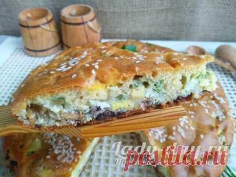Пирог с рыбными консервами, простой и быстрый, в духовке - пошаговый рецепт с фото | Простые рецепты с фото