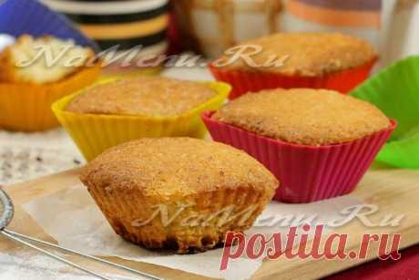 Кексы творожные в силиконовых формочках: рецепт с фото